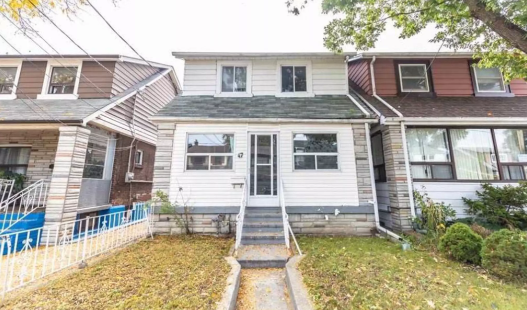 What a $700K detached home in Toronto Currently looks like