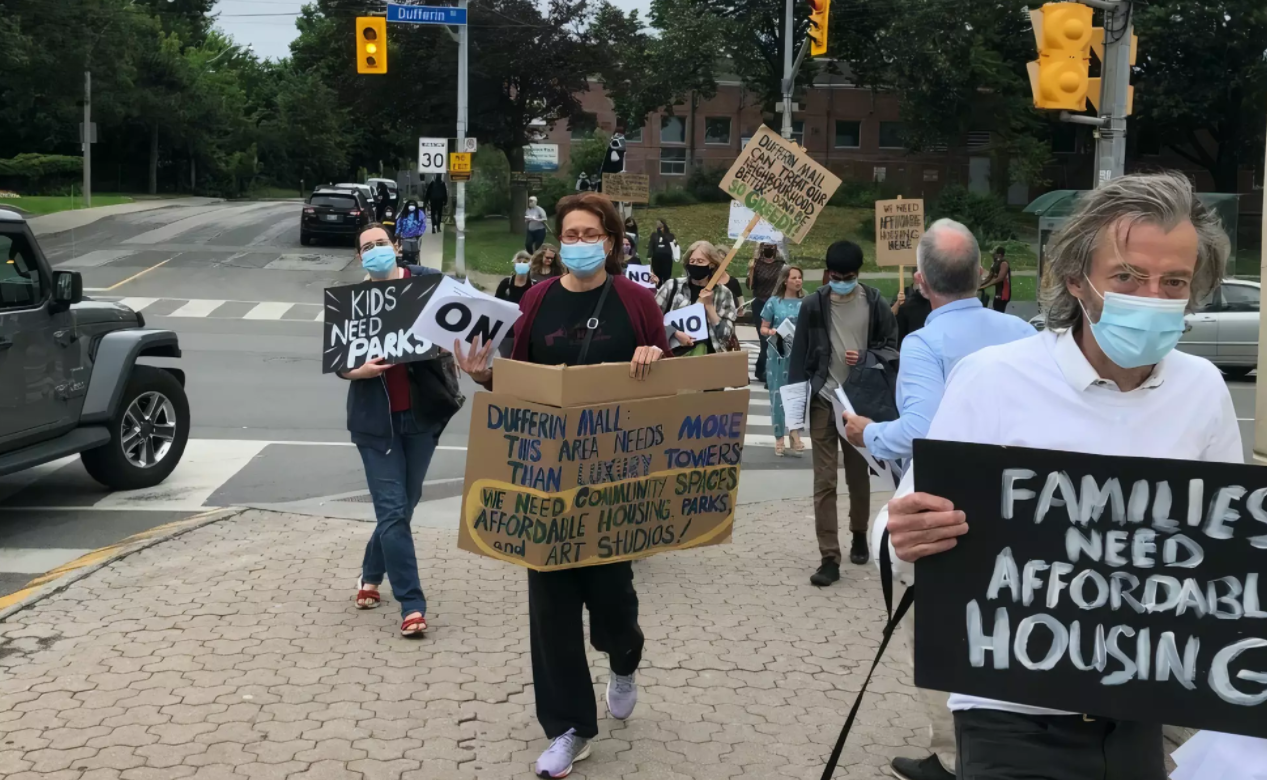 A Win For Toronto residents against developers