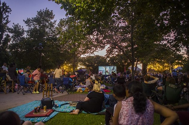 Toronto Is Getting It's First In-Person Outdoor Movie Festival! and Its Free!